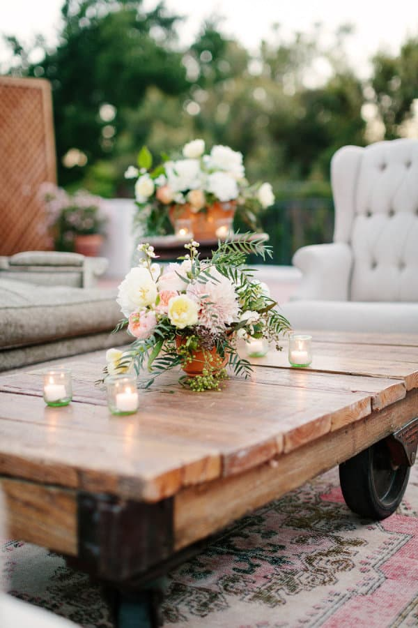 #92. AN ADORABLE COFFEE TABLE FOR YOUR PATIO