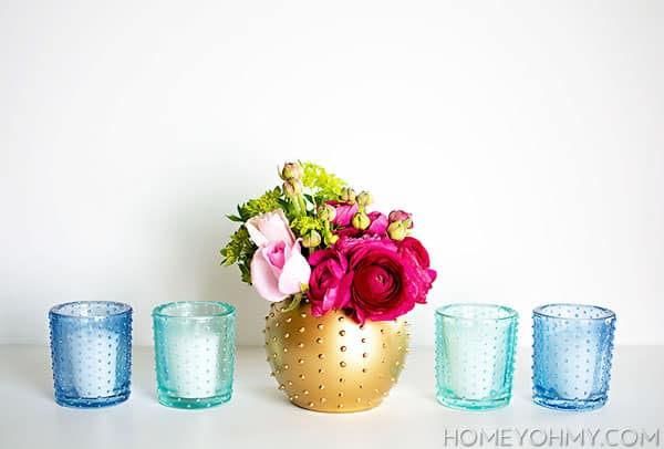 Beaded-votives-and-vase