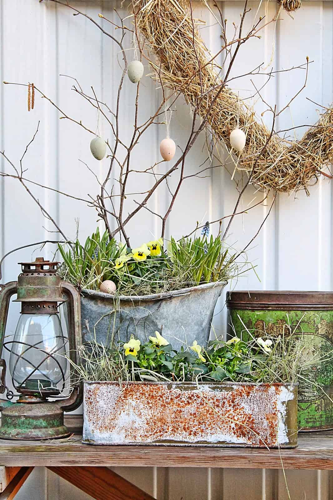 4. prepare your front porch for Easter