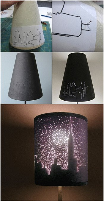 CITYSCAPE LAMPSHADE