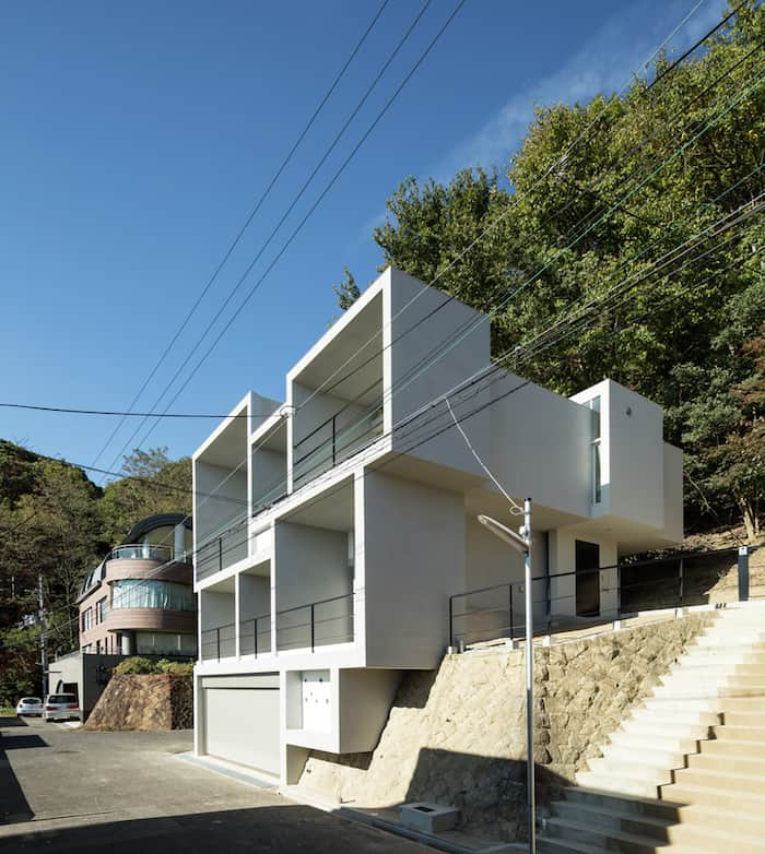 Concrete Cubes Shaping a Home Designed by YM Design Office 1