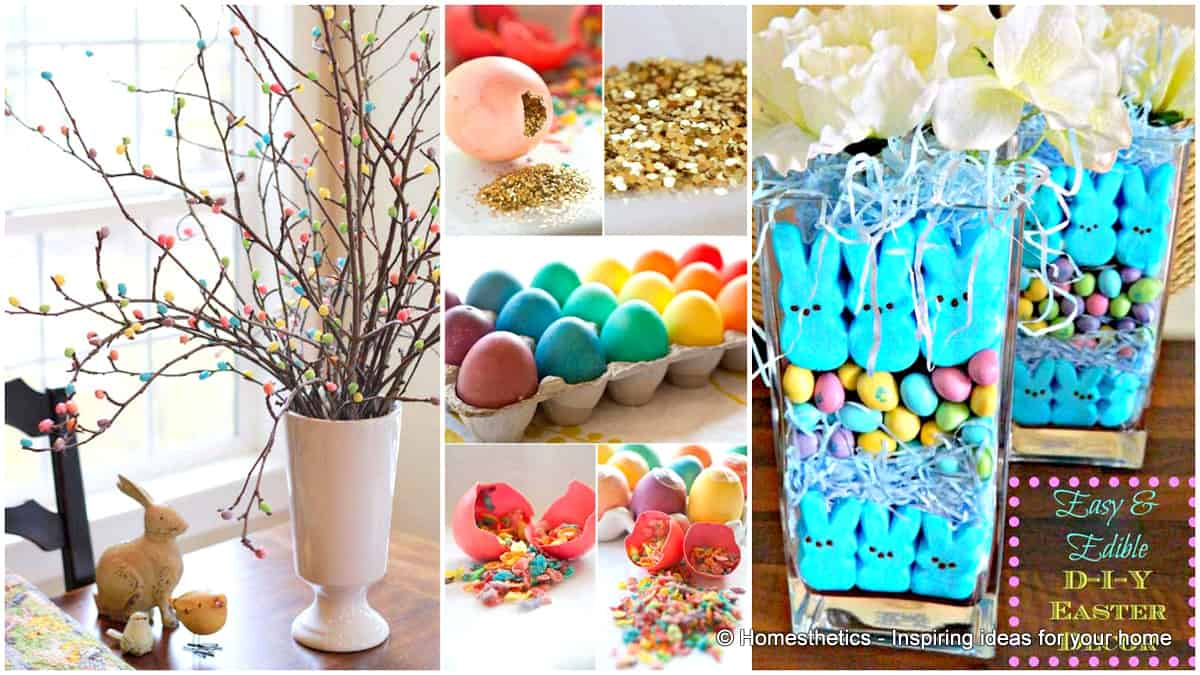 easter crafts collage homesthetics
