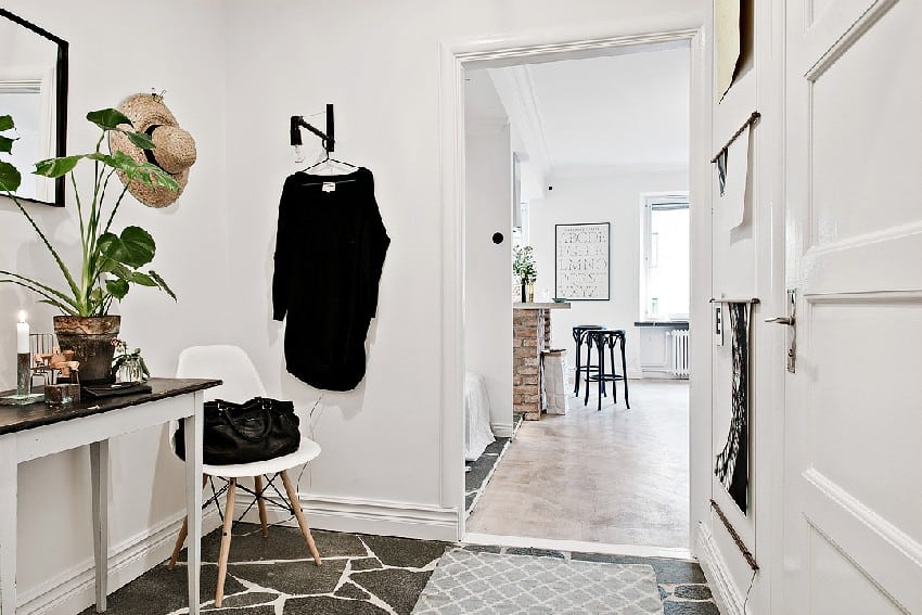 How To Decorate And Organize A One Room Apartment homesthetics (15)