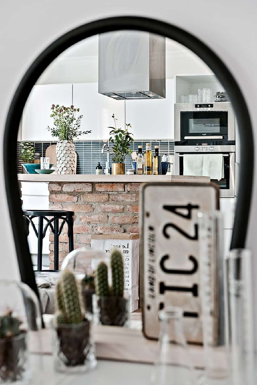How To Decorate And Organize A One Room Apartment homesthetics (5)