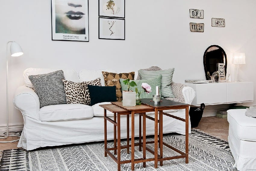 How To Decorate And Organize A One Room Apartment homesthetics (7)