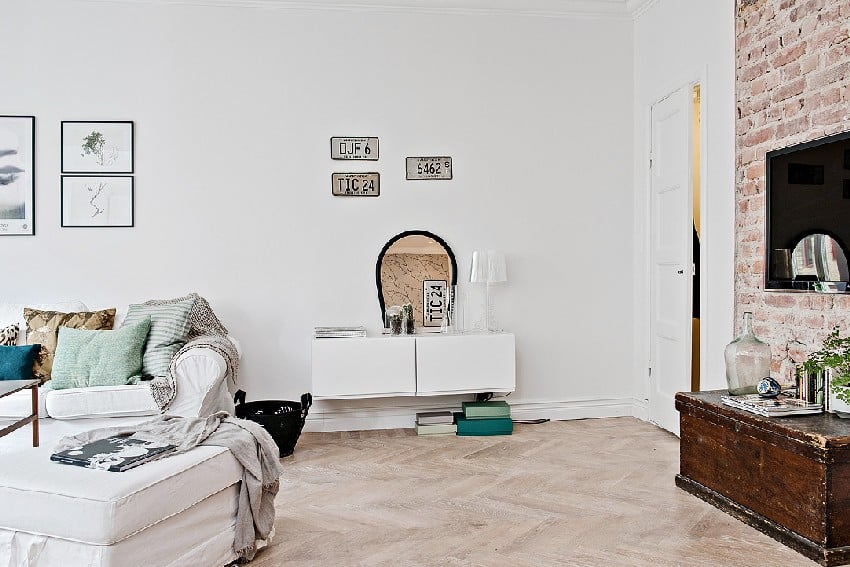 How To Decorate And Organize A One Room Apartment homesthetics (8)