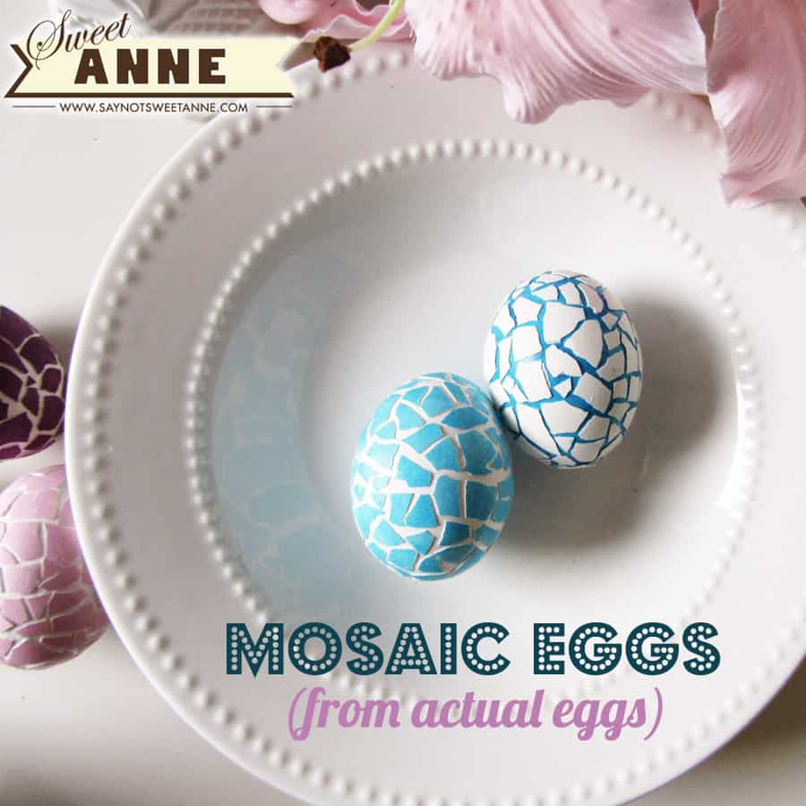 CRACKED MOSAIC EASTER EGGS
