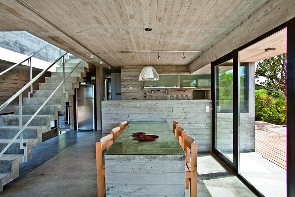 Industrial Aesthetic Values in a Beach Home by BAK Architects (21)