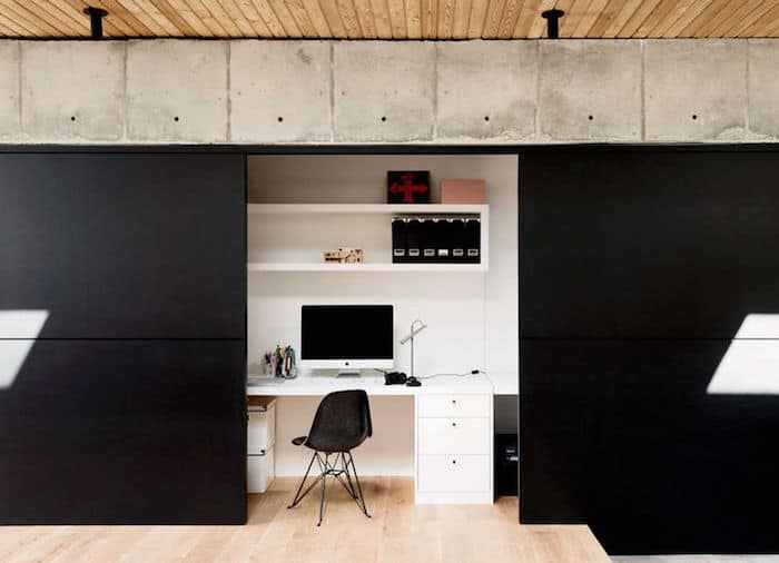 Minimal Wood and Concrete Composition by By Robertson Design (11)