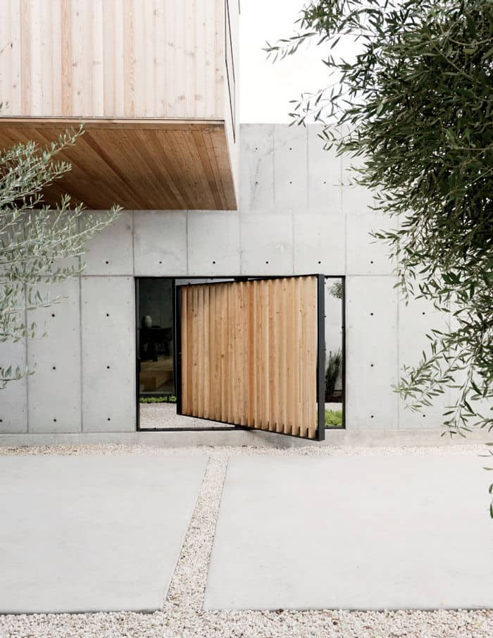 Minimal Wood and Concrete Composition by By Robertson Design (3)