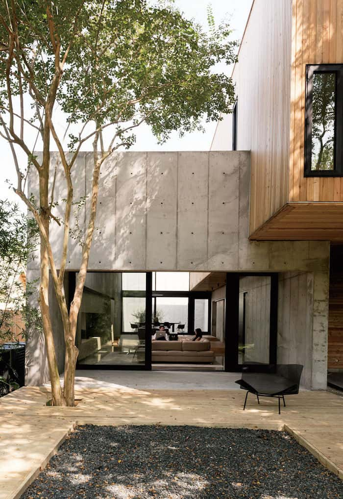 Minimal Wood and Concrete Composition by By Robertson Design (5)