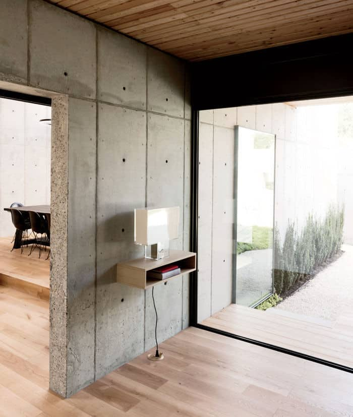 Minimal Wood and Concrete Composition by By Robertson Design (7)