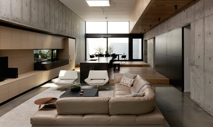 Minimal Wood and Concrete Composition by By Robertson Design (8)