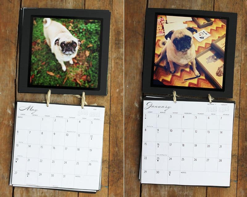 PERSONALIZED INSTAGRAM CALENDAR