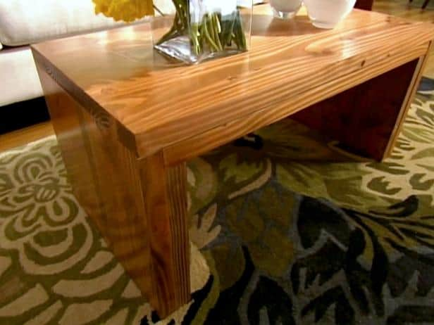 STURDY COFFEE TABLE