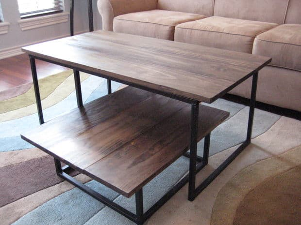 Simple Free DIY Coffee Table Plans homesthetics (8)