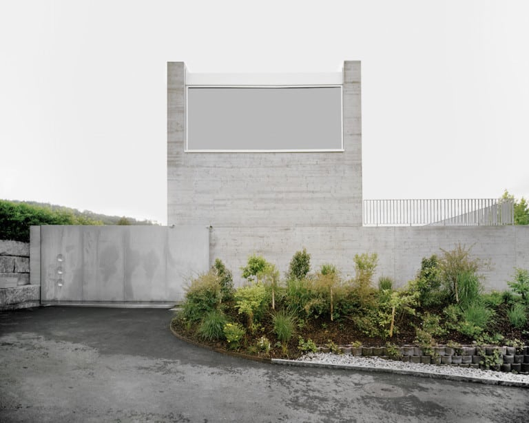 Simple and Elegant Swiss Concrete Residence by E2A 1