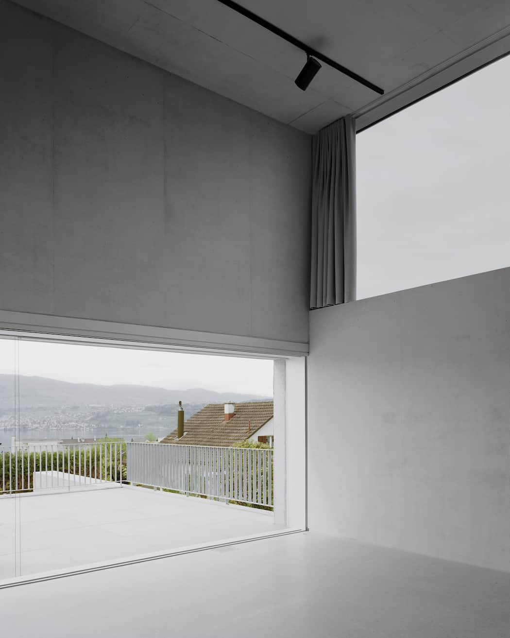 Simple and Elegant Swiss Concrete Residence by E2A (4)