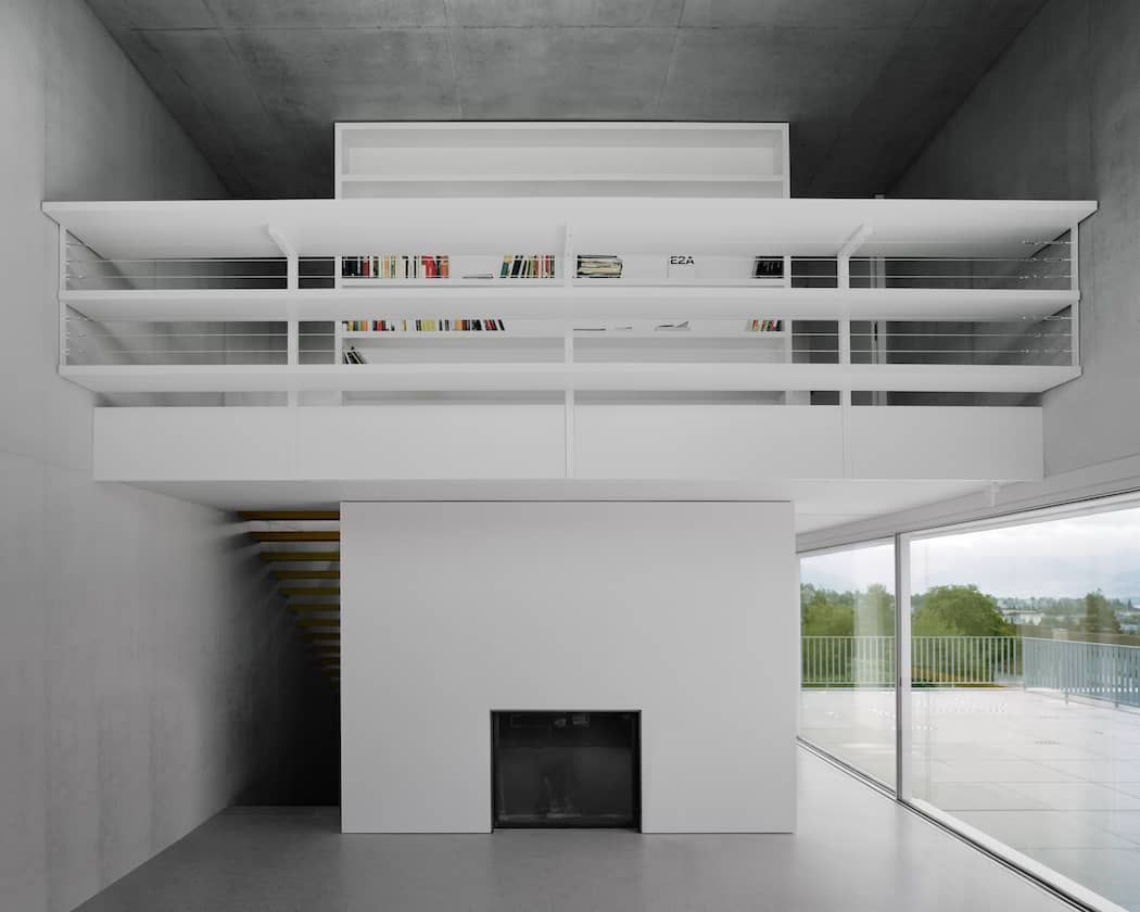Simple and Elegant Swiss Concrete Residence by E2A (5)