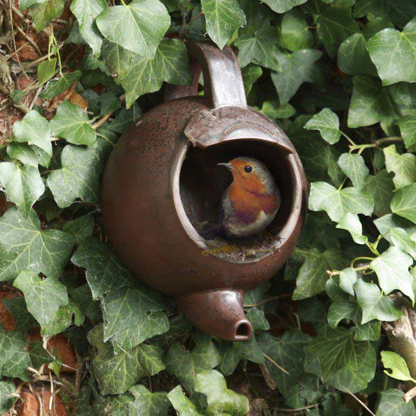 1. Simple Old Teapots Can Become Extraordinary Shelters