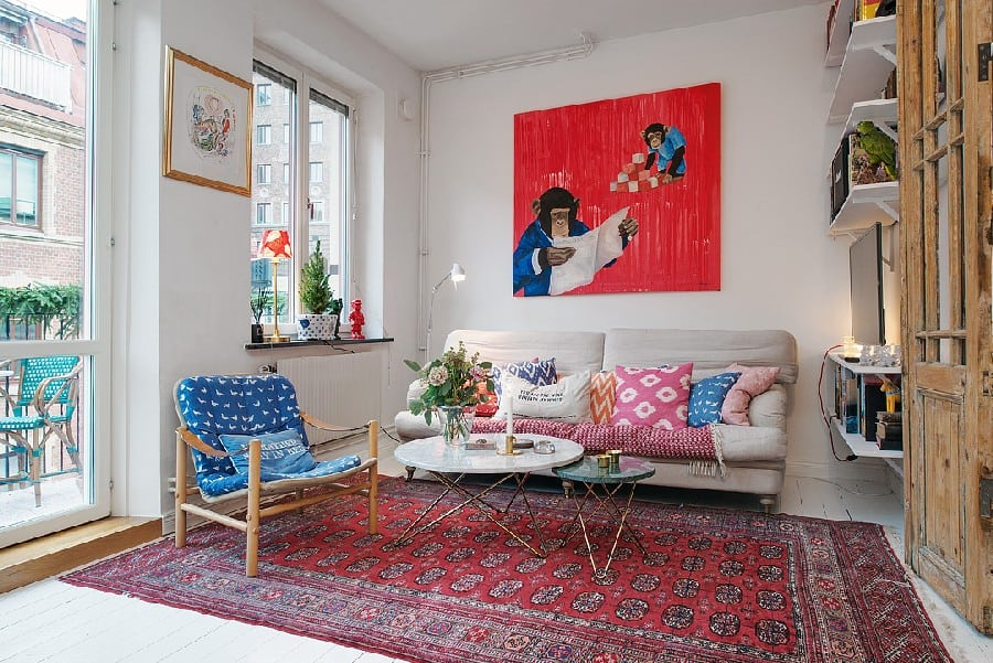 Small Apartment in Sweden Boasting Style And Character homesthetics (12)