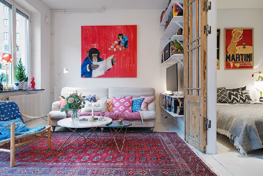 Small Apartment in Sweden Boasting Style And Character homesthetics (15)