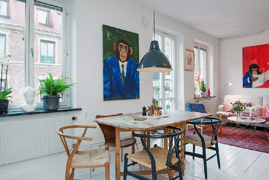 Small Apartment in Sweden Boasting Style And Character homesthetics (2)