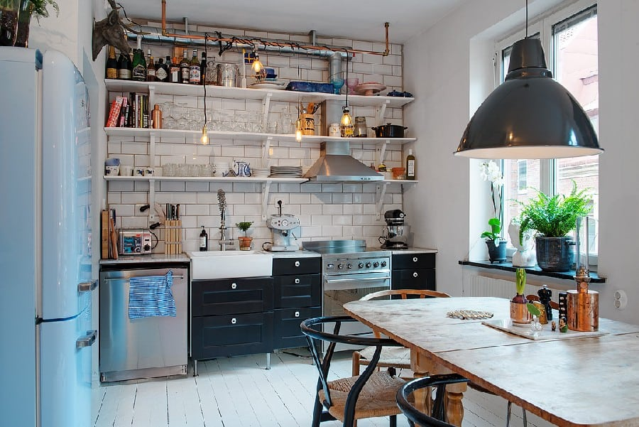 Small Apartment in Sweden Boasting Style And Character homesthetics (4)