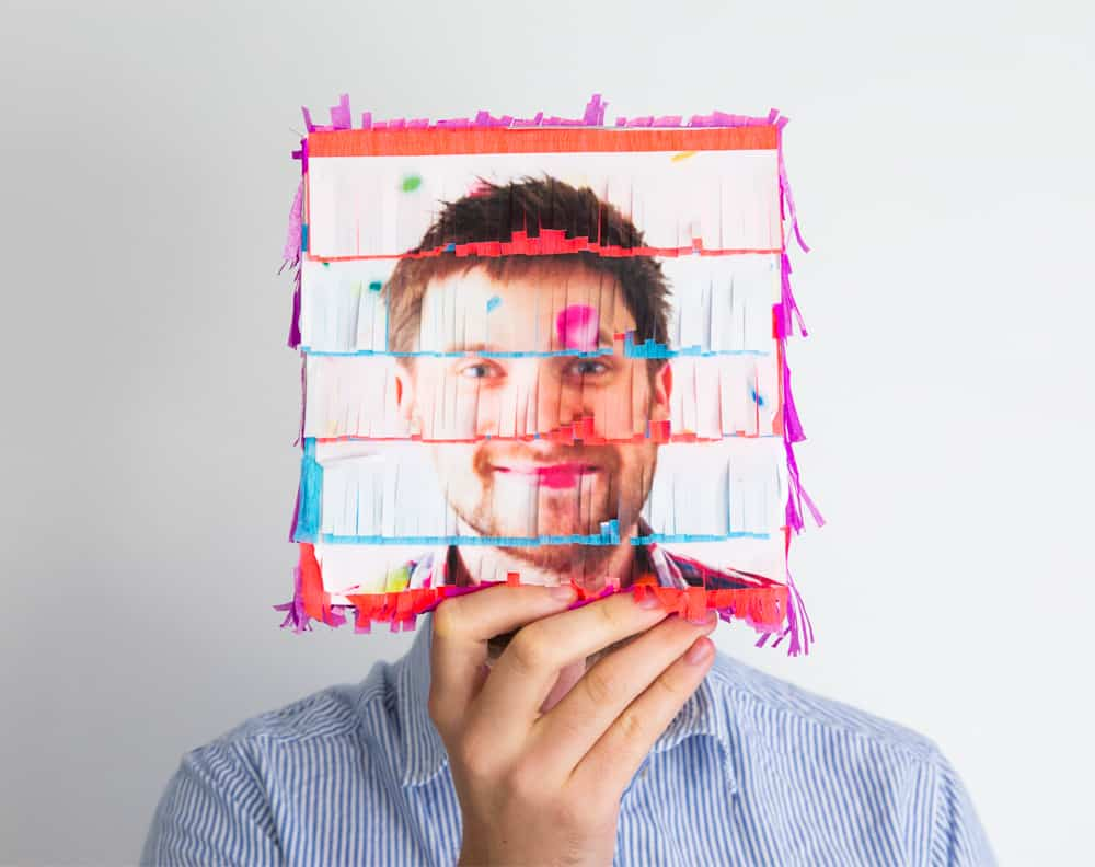 .DIY 3D PHOTO PINATA