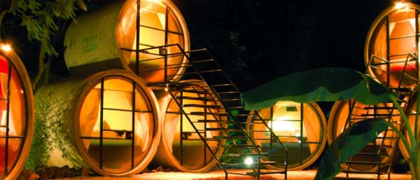 TuboHotel Recycled Concrete Pipes Shaping Eco Friendly Hotel 12