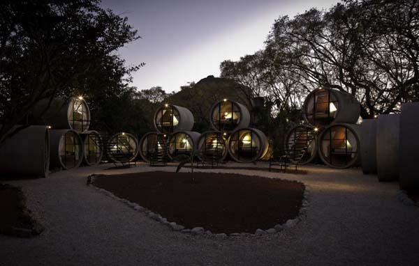TuboHotel - Recycled Concrete Pipes Shaping Eco-Friendly Hotel (3)