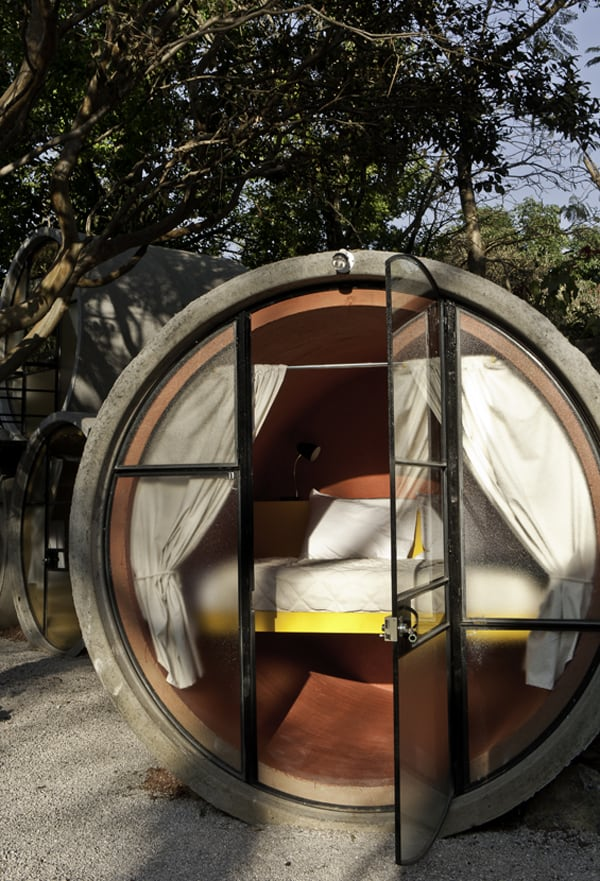 TuboHotel - Recycled Concrete Pipes Shaping Eco-Friendly Hotel (8)