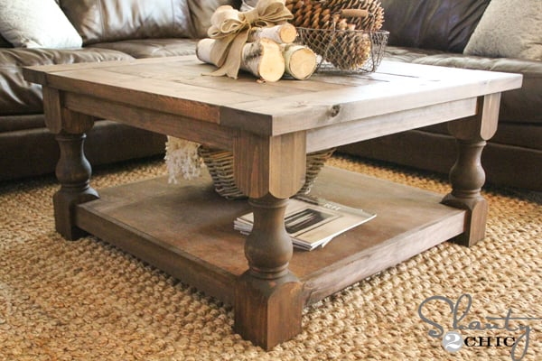 Marvelous coffee table plans homesthetics