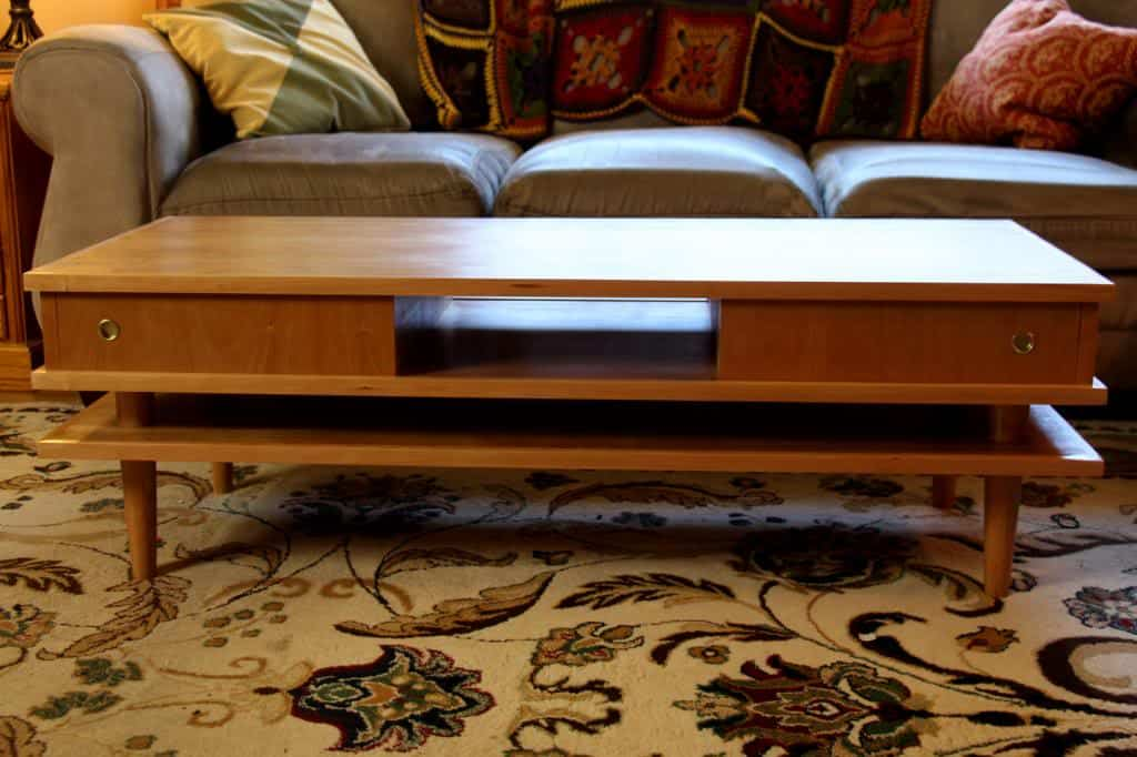 Retro Style Coffee Table Instructions Here