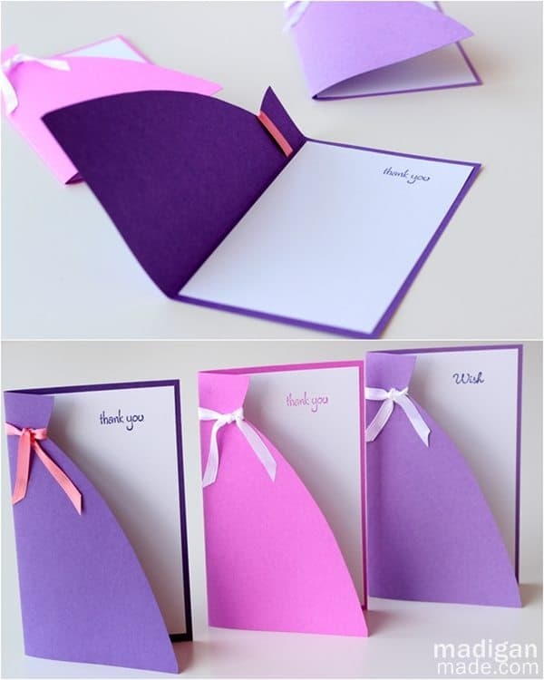 SIMPLE AND ELEGANT HANDMADE CARD