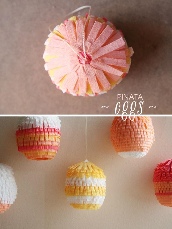 BEAUTIFUL PINATA EASTER EGGS