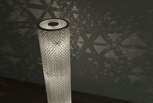 BEAUTIFUL TETRA BOX LAMP 3
