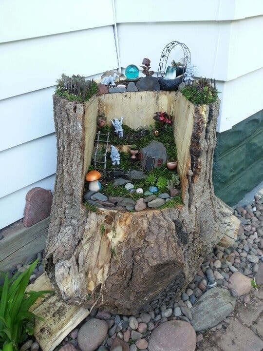 16 Do-It-Yourself Fairy Garden Ideas For Kids (2)