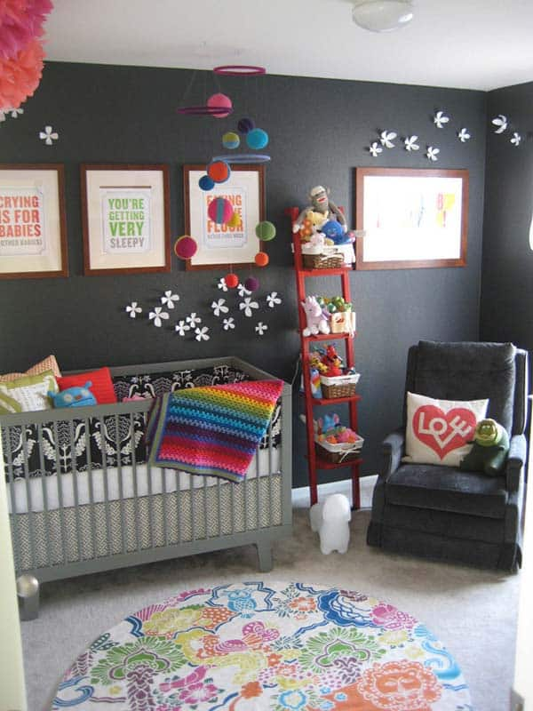 22 Simply Splendid Decor Baby Nursery Ideas to Consider homesthetics decor (14)