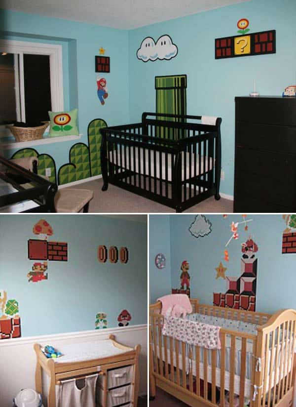 22 Simply Splendid Decor Baby Nursery Ideas to Consider homesthetics decor (2)