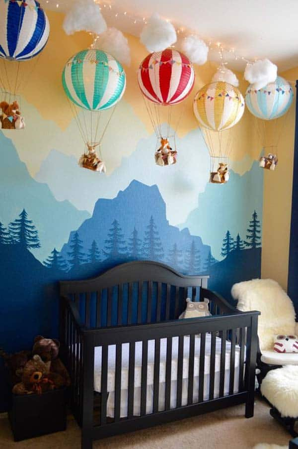 22 Simply Splendid Decor Baby Nursery Ideas to Consider homesthetics decor (6)