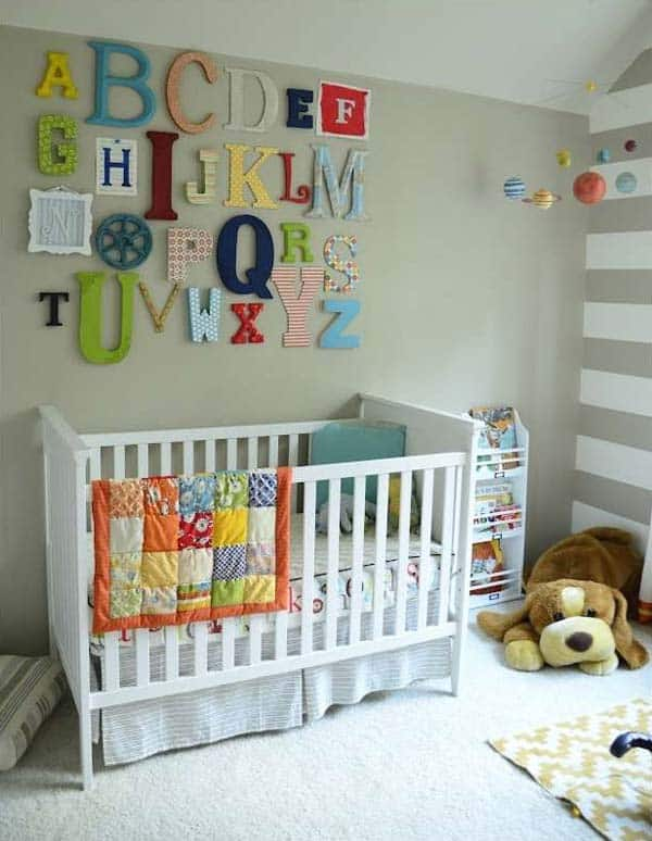 22 Simply Splendid Decor Baby Nursery Ideas to Consider homesthetics decor (8)