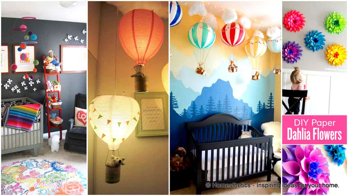 Diy Crafts For Baby Room: 22 Simply Splendid Decor Baby Nursery Ideas To Consider
