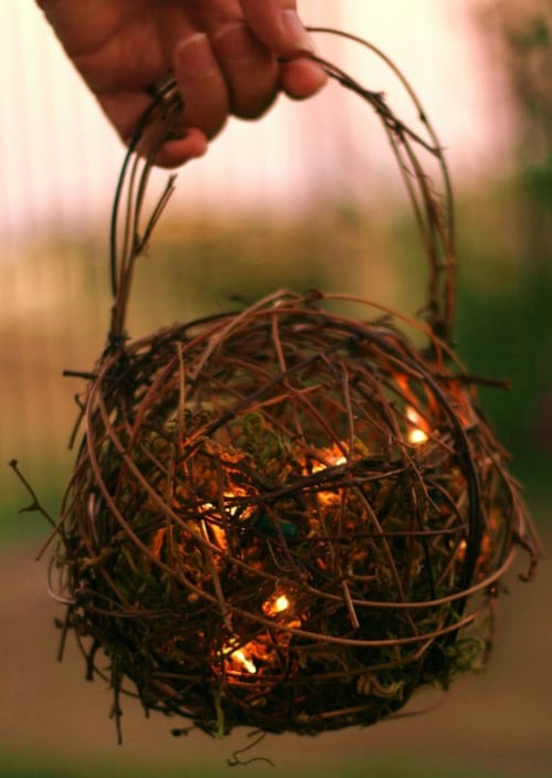 10. TWINE BALL NESTLING LIGHT