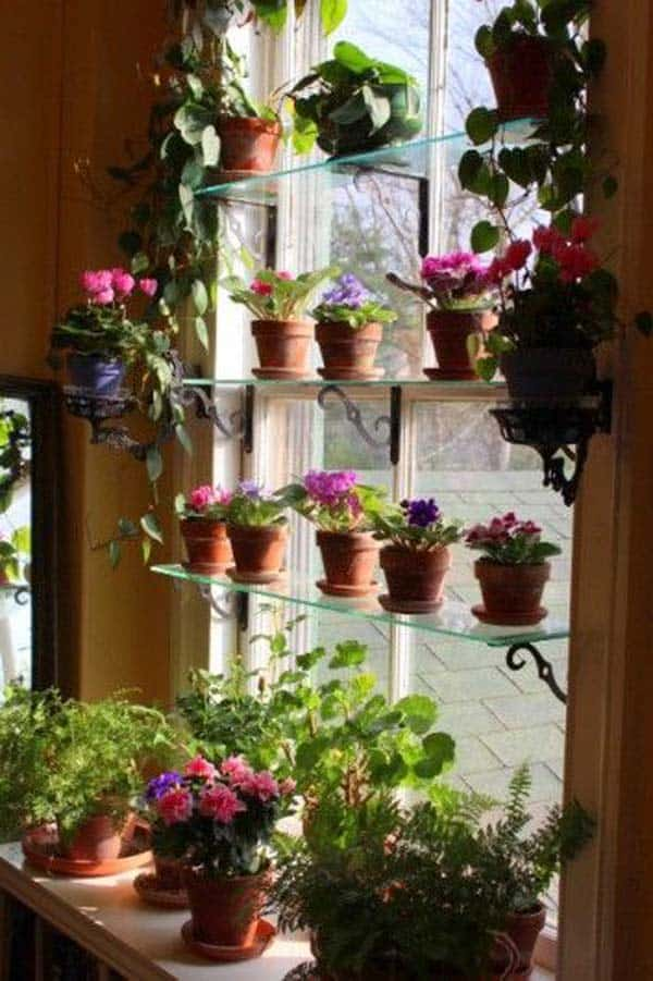 24 of The Most Beautiful Ideas on Indoor Mini Garden to Collect homesthetics (15)