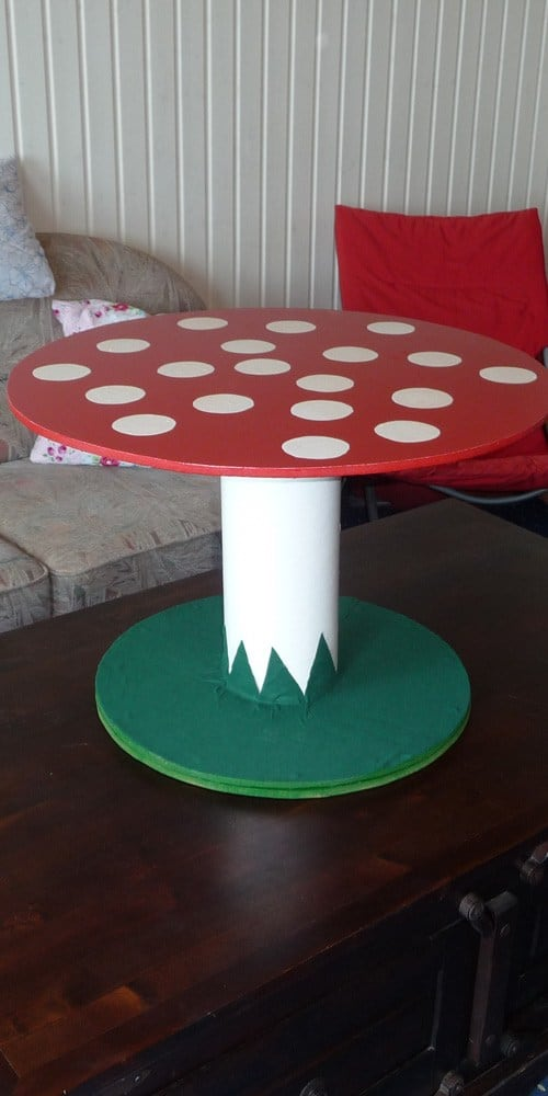 16 Beautiful And Adaptable Spool Table Designs
