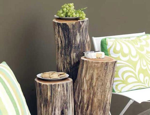 35 Tree Trunk Ideas For A Warm Decor Homesthetics