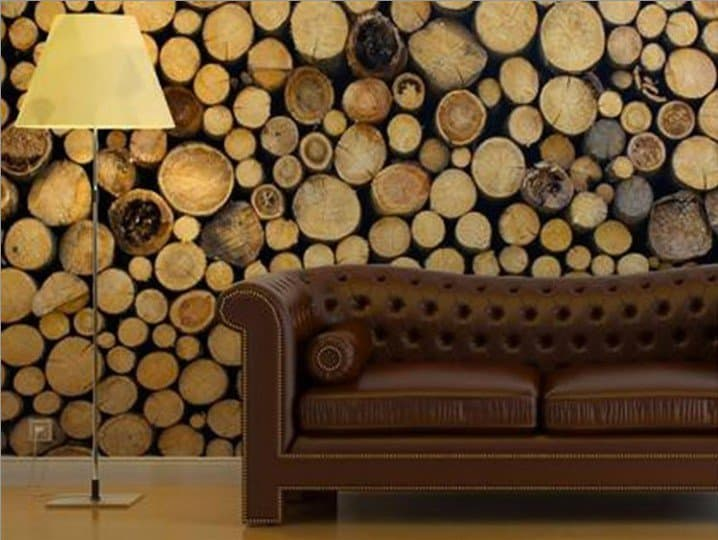 35 tree trunk ideas for a warm decor homesthetics inspiring ideas for your home - Wooden log home interior decorating ideas ...