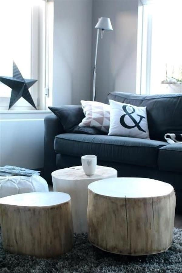 35 Tree Trunk Ideas For A Warm Decor Homesthetics Inspiring Ideas For Your Home