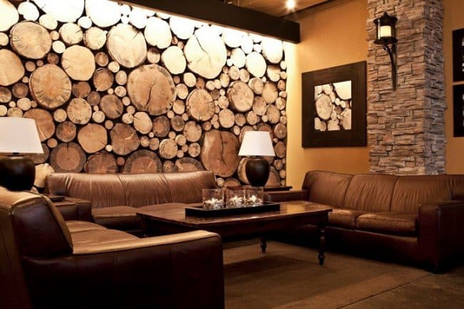 35 tree trunk ideas for a warm decor homesthetics for Tree trunk slice ideas